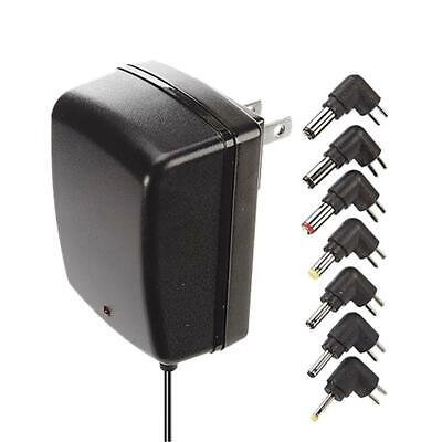 AudioVox RCA Universal AC Power Adapter 500 mA with 7 Tips