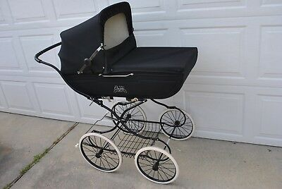 Vintage Simo Exclusive Classic Pram Carriage Stroller Norwegian Made VGC