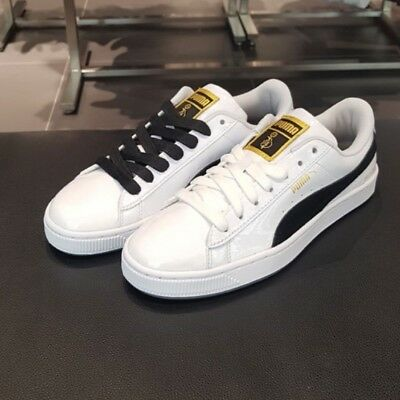 buy online f4aa7 9b488 BTS PUMA BASKET Patent Made by BTS with Photo Mix Tracking number provided