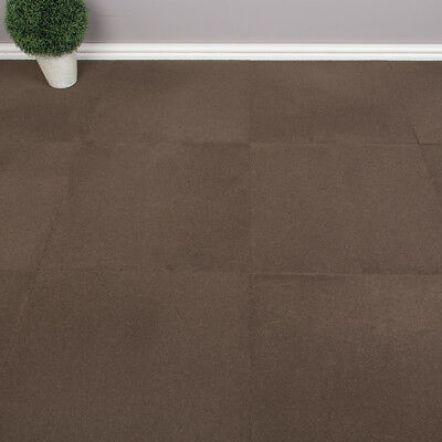 Milliken Quality Office Carpet Tiles - Solid Pattern - Brown - 4.18m2