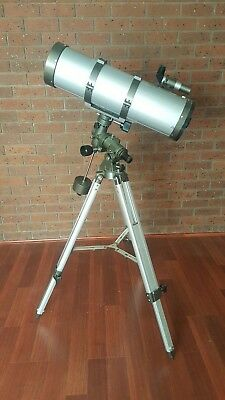 "Telescope Reflector 6"" Plossl Eyepieces Astro Optical Tripod Astronomy"