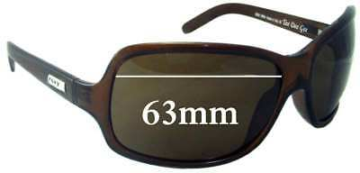 47f5d72940 SFX REPLACEMENT SUNGLASS Lenses fits Roxy Tee Dee Gee - 63mm wide ...