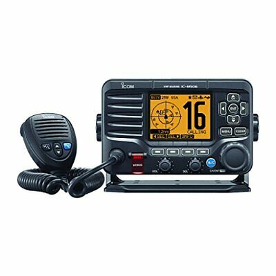 Icom for M506-01 Black VHF Radio NMEA0183 Front Mic