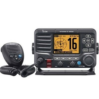 Icom for M506-11 Black VHF Radio NMEA2000 Front Mic