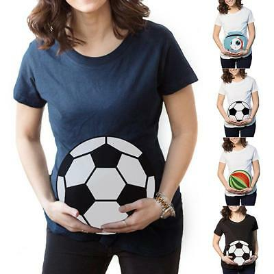 Funny Pregnant Baby Girl Pregnancy Women short Sleeve T-Shirt Mom!