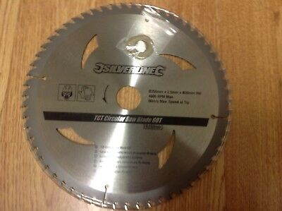 Radial Arm Saw Blade Dewalt Elu Etc 250mm 60T