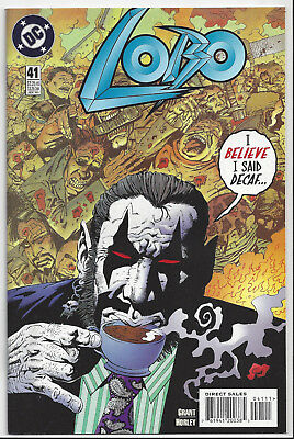 Lobo #41 (1993 Ongoing Series)  Near Mint 9.4  ~ Hard To Find