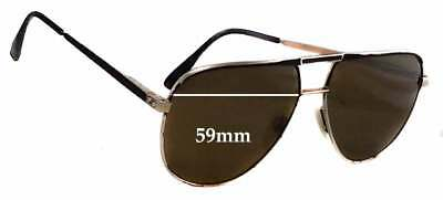 04e0b7009f SFX REPLACEMENT SUNGLASS Lenses fits Safilo Elasta 3055 - 55mm wide ...