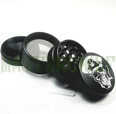 Master Chief 1.5 Inch 40mm 4-Piece Tobacco Herb Spice Grinder Magnetic