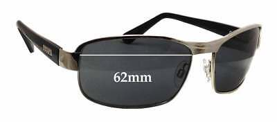 SFX Replacement Sunglass Lenses fits Bolle Tempest 73mm Wide