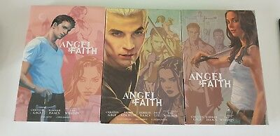 Angel and Faith Season 9 Library Edition Hardcovers New and Sealed