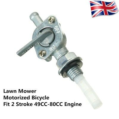 Fuel Tap Gas Petrol Valve Petcock Switch Pump For 2 Stroke Motorcycle Lawn Mower