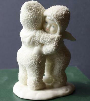 "Department 56 Snowbabies Retired Winter Tales ""I NEED A HUG"" Angel-Porcelain Fig"