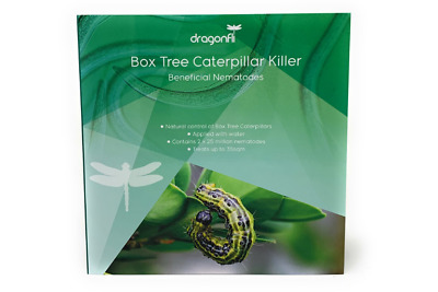 Dragonfli Box Tree Caterpillar Killer Nematodes - Kills Naturally Covers 200sqm