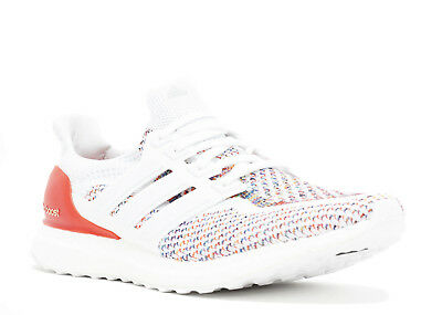 c4c3b949 ADIDAS ULTRA BOOST 2.0 Multicolor Rainbow Running Shoes White Red ...