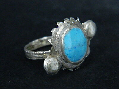 Antique Silver Ring With Stone 1900 AD  #STC244