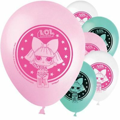 "LOL Surprise 12"" Latex Balloons Birthday Party Girls Dolls Decorations L.O.L"