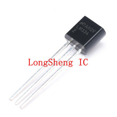 LM334 LM334M IC ADJUSTABLE CURRENT SOURCE 3 TERMINAL 8-PIN SOIC 5 PER LOT