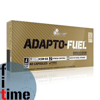 OLIMP ADAPTO FUEL Ashwaghanda , Brahmi / Stress / Anxiety / Fatigue, ADAPTOGEN