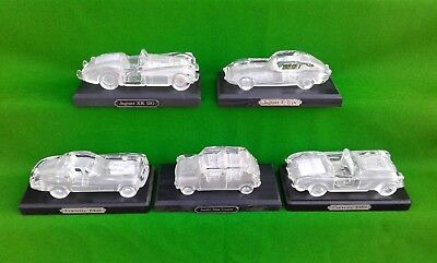 Hofbauer Glass Crystal Classic / Vintage Car Paperweight Selection.