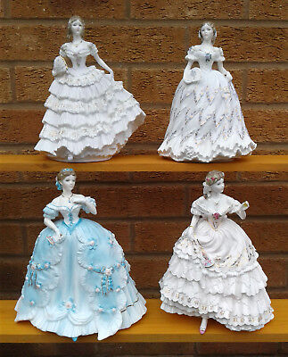 Royal Worcester - Enchanted Evenings -  Selection Of Figurines - Limited Edition
