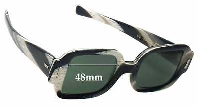 10cb38578ea9 SFx Replacement Sunglass Lenses fits Sunmodes SRO Get Squared - 48mm Wide
