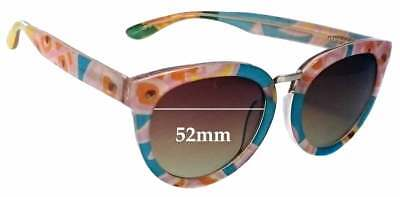 2ebe92f4b7 SFx Replacement Sunglass Lenses fits Toms Yvette Summer Pineapple - 52mm  Wide