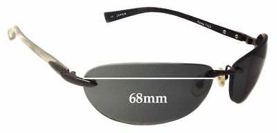 3791f87ac79f SFX REPLACEMENT SUNGLASS Lenses fits Tom Ford Sophia TF121 - 68mm ...