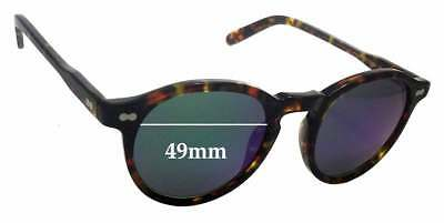 1c6199e163 SFX REPLACEMENT SUNGLASS Lenses fits Moscot Miltzen - 49mm wide ...