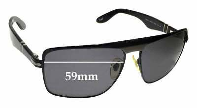 SFX Replacement Sunglass Lenses fits Persol 2913S 59mm Wide