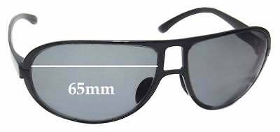 1156ec7c0965 SFX REPLACEMENT SUNGLASS Lenses fits Fila SF9556 - 65mm wide ...