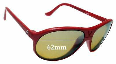 73e3900f86 SFx Replacement Sunglass Lenses fits Vuarnet Pouilloux 085 62mm wide