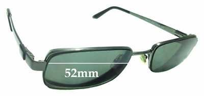 279cebbe45 SFX REPLACEMENT SUNGLASS Lenses fits Ray Ban RB6067 - 52mm wide ...