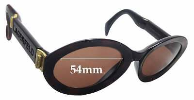 51219d34c7 SFX REPLACEMENT SUNGLASS Lenses fits Karl Lagerfeld 4106 - 54mm Wide ...