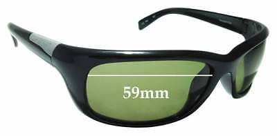 SFX Replacement Sunglass Lenses fits Serengeti Tosca 7797 59mm Wide