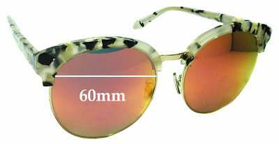 f4fe02c2784fa SFx Replacement Sunglass Lenses fits Gentle Monster x Second Floor Deborah  - 60m
