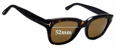 5c5426d7b4d6 SFx Replacement Sunglass Lenses fits Tom Ford TF237 Snowdon - 52mm wide
