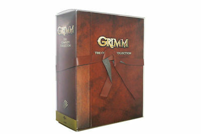 GRIMM: THE COMPLETE COLLECTION BOX SET (DVD, 2017, 29-Disc Set)