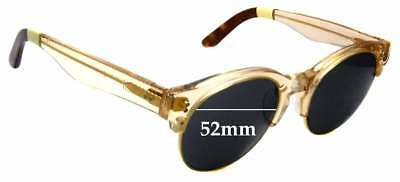 b25d5490dc2f SFX REPLACEMENT SUNGLASS Lenses fits Serengeti Andrea - 51mm wide ...