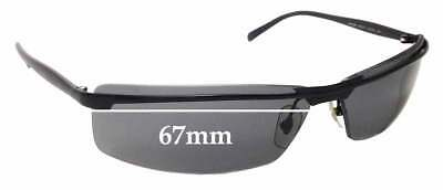 SFx Replacement Sunglass Lenses fits Ray Ban RB3296 - 67mm Wide