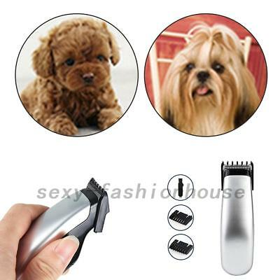 Pro Baby Electric Pet Dog Clipper Grooming Trimmer Hair Cutter Shaver Kit AU