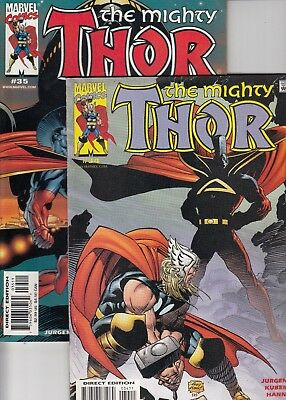 Thor 34 & 35 - 2 part story - 2001 - Near Mint