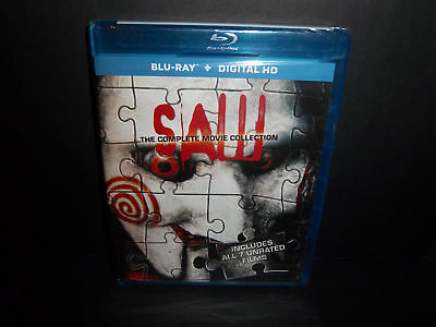 Saw - The Complete Movie Collection (Blu-ray) Brand New & Sealed!!