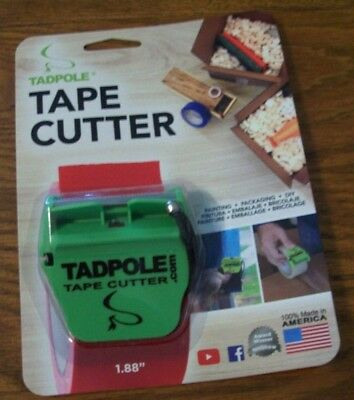 "Tadpole Tape Cutter 2"" Packing & Shipping Or DIY"