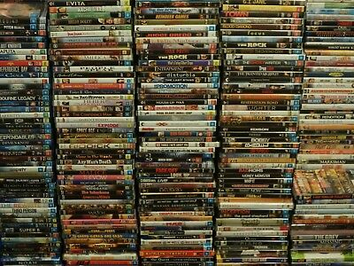 DVD Bulk Lot 6 Choose Your Title Every Disc $3.99 Assorted Titles/Genres CHEAP