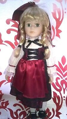 Vintage Antique Old Beautiful Doll! Age Unknown! Collectors.uk FREE POSTAGE!!