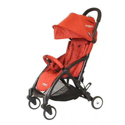 Compact Lightweight Baby Stroller Pram Easy Fold Travel Carry on Plane 2018