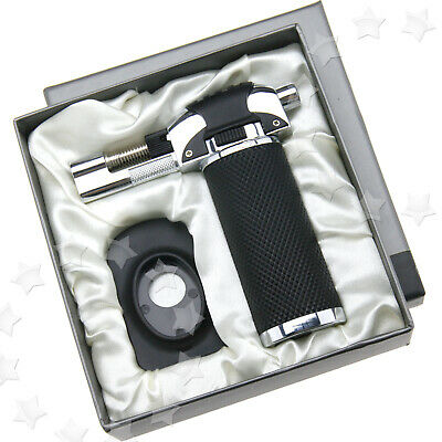 Blow Torch Butane Gas Refillable Tool for Outdoor Cooking Catering Tart Set