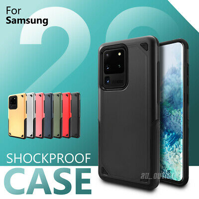 Shockproof Hybrid Protective Case Cover Bumper for Samsung S20 Ultra S10 S9 Plus