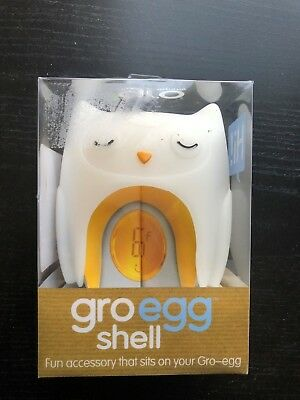 The Gro Company Gro-Egg Shell Cover Thermometer, Oona The Owl NEW